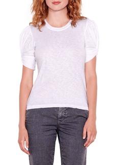 Sundry Puff Twist Sleeve T-Shirt
