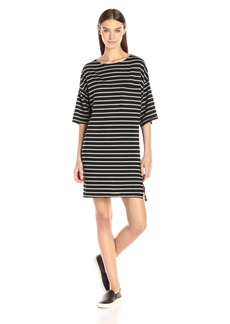 SUNDRY Women's Wide Sleeve Dress