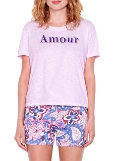 Women's Sundry Amour Graphic Tee