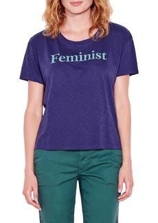 Women's Sundry Feminist Graphic Tee