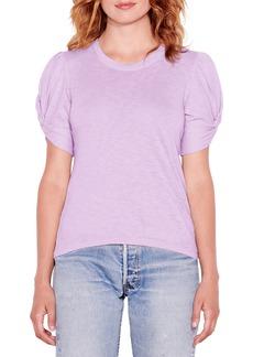 Women's Sundry Puff Twist Sleeve T-Shirt