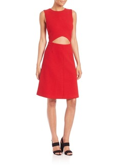 Suno Cutout A-Line Dress