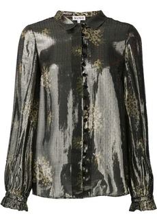 Suno metallic effect shirt