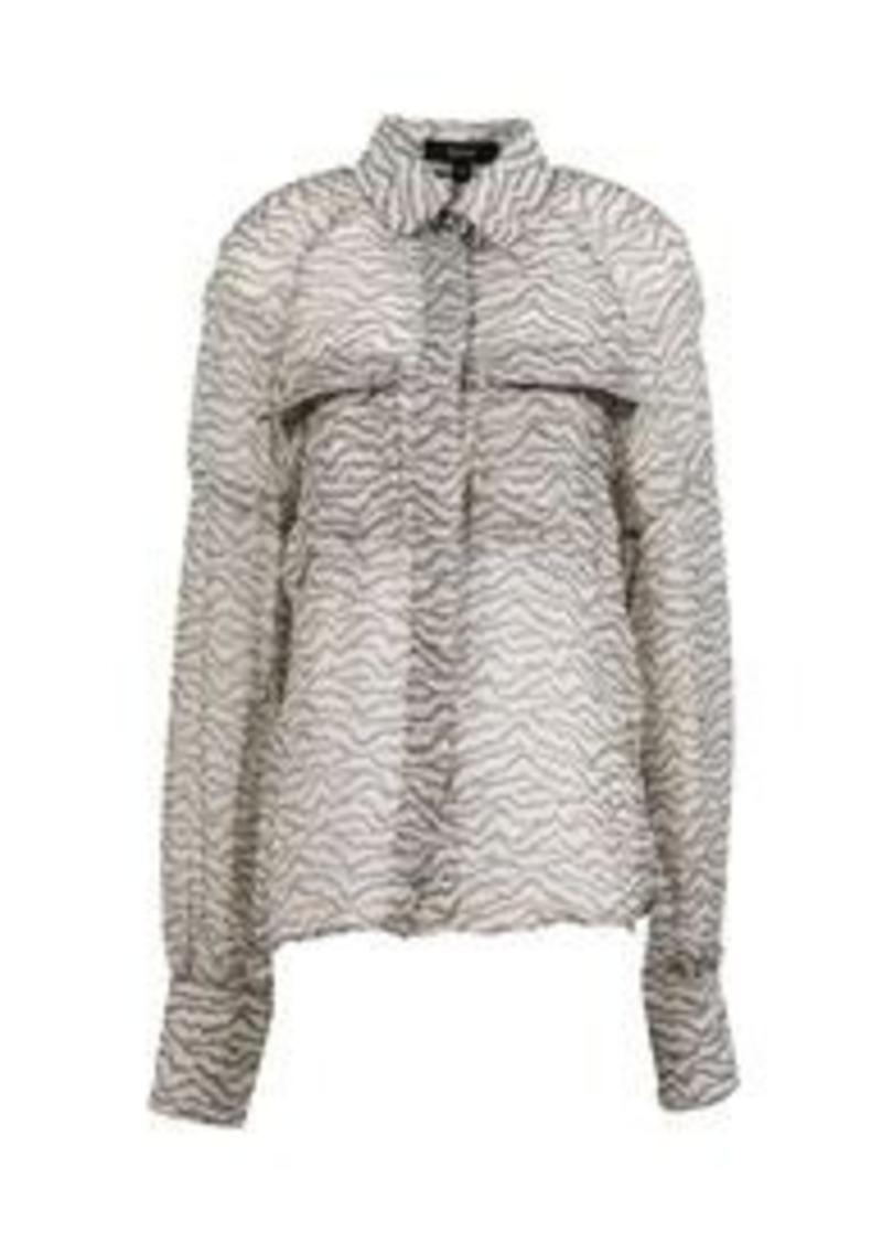 SUNO - Silk shirt and top