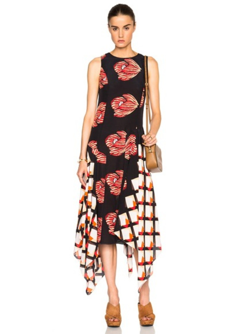 SUNO FWRD Exclusive Long Asymmetrical Dress