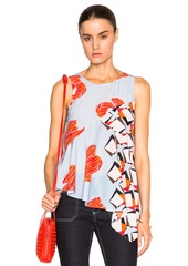SUNO FWRD Exclusive Silk Blouse