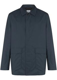 Sunspel patch pocket waxed jacket