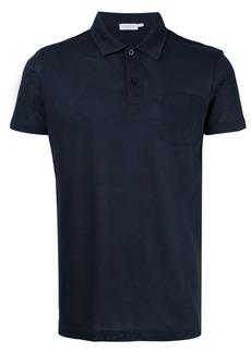 Sunspel Riviera plain polo shirt
