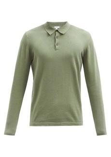 Sunspel Sea Island cotton-jersey polo shirt