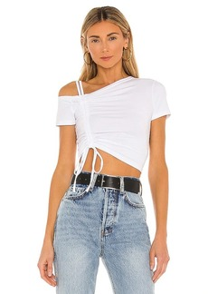 superdown Kylie Ruched Front Top