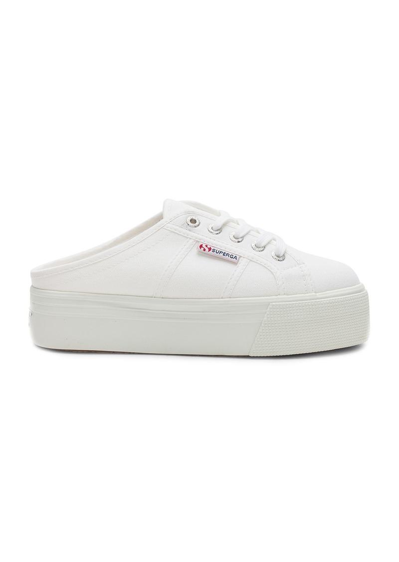 2790 Sabotcotw Sneaker in White. - size 10 (also in 8,8.5,9,9.5) Superga