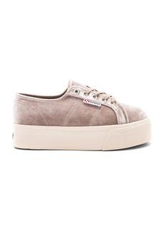 Superga 2790 Velvet Platform Sneaker