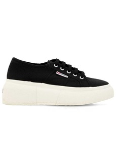 Superga 50mm Canvas Platform Sneakers