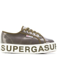 Superga all-around logo platform sneakers