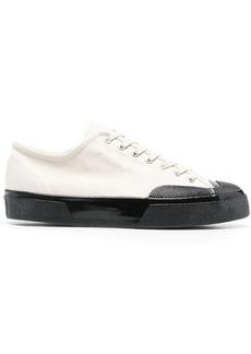 Superga contrasting toe-cap sneakers