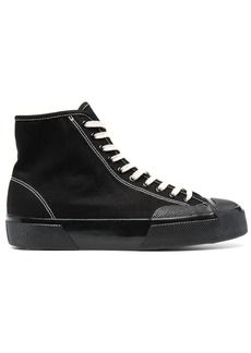 Superga high-top lace-up sneakers