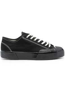 Superga lace-up canvas sneakers