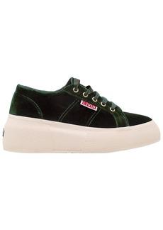 Superga Lvr Editions Velvet Platform Sneakers