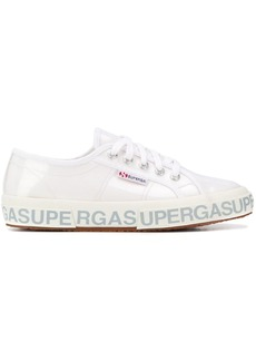 Superga patent low-top sneakers