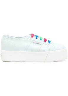 Superga platform low top sneakers