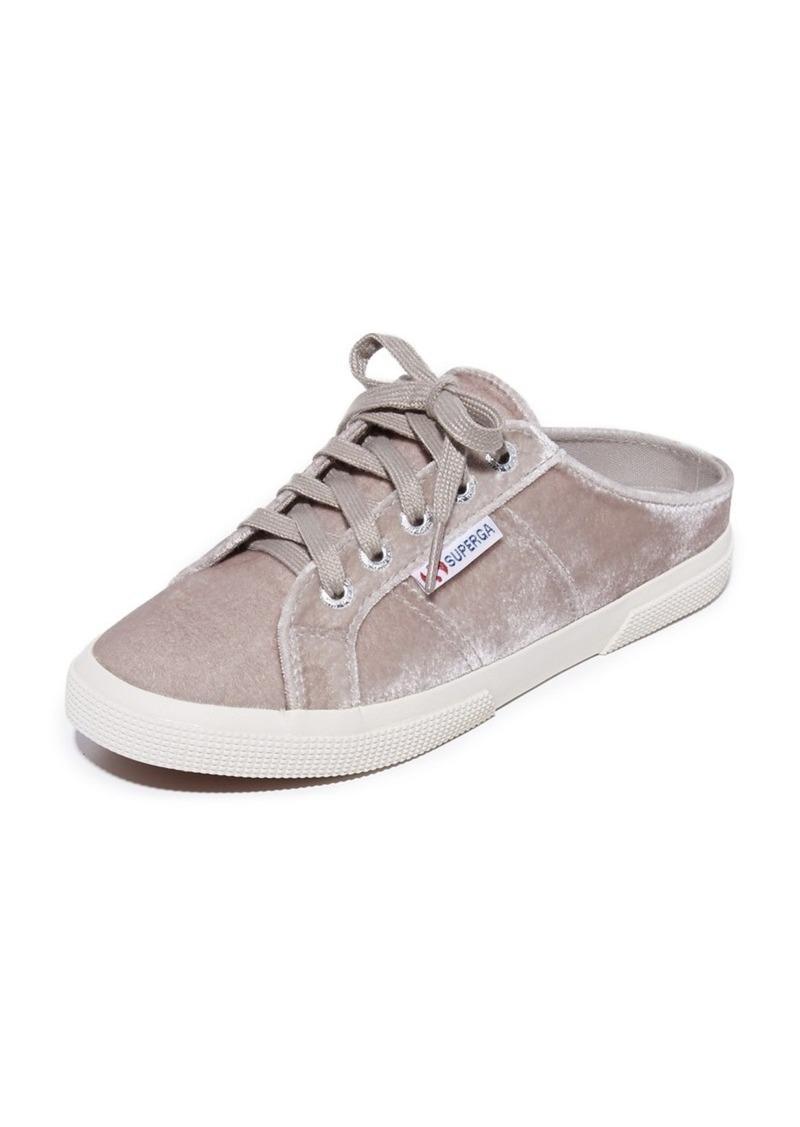 bc7785009998e Superga Superga 2288 Velvet Mule Sneakers | Shoes