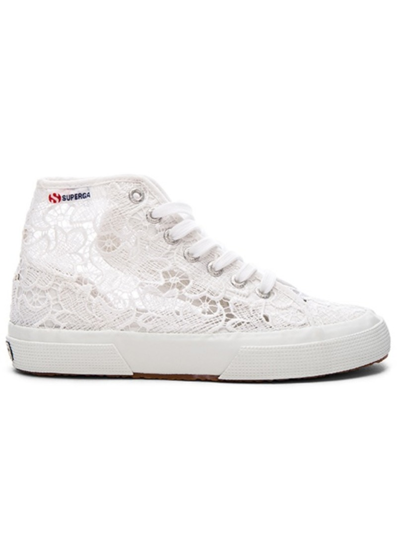 Superga 2750 Cot Macrame High Top Sneaker