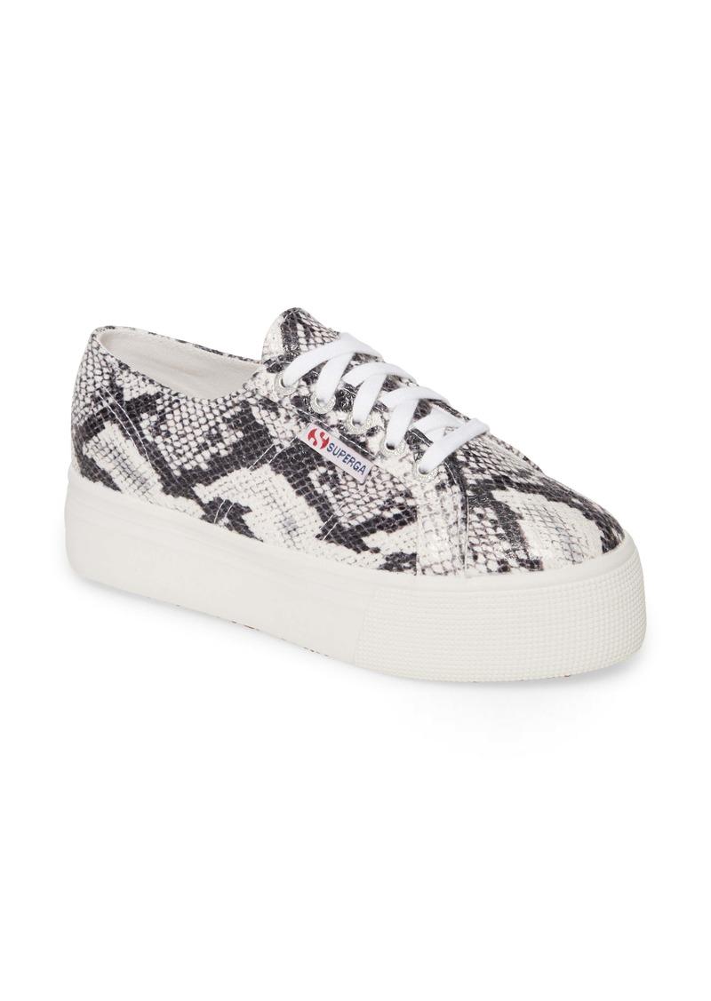 Superga 2750 Fancotw Snake Print Sneaker (Women)
