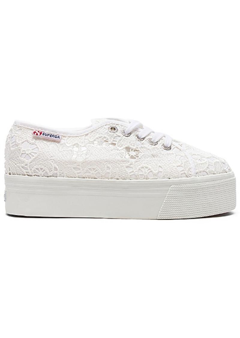 2790 Platform Sneaker in White. - size 10 (also in 8,8.5,9,9.5) Superga