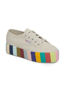 Superga 2790 Stripe Platform Sneaker (Women)