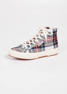 Superga 2795 Tartan High Top Sneakers