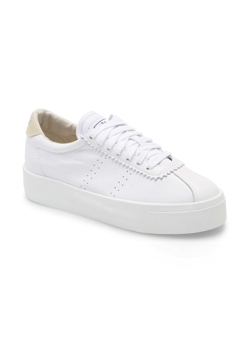 Superga 2854 Club 3 Leasuew Platform Sneaker (Women)