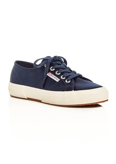 Superga Classic Satin Lace Up Sneakers
