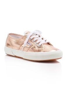Superga Cotmetu Metallic Lace Up Sneakers
