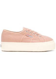 Superga flatform sole sneakers