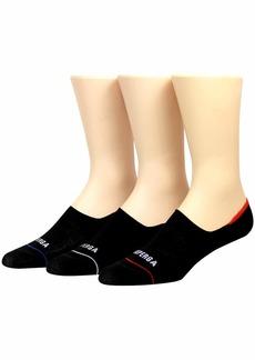 Superga Men's 3PK Sneaker Socks black