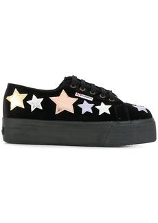 Superga star patch flatform sneakers