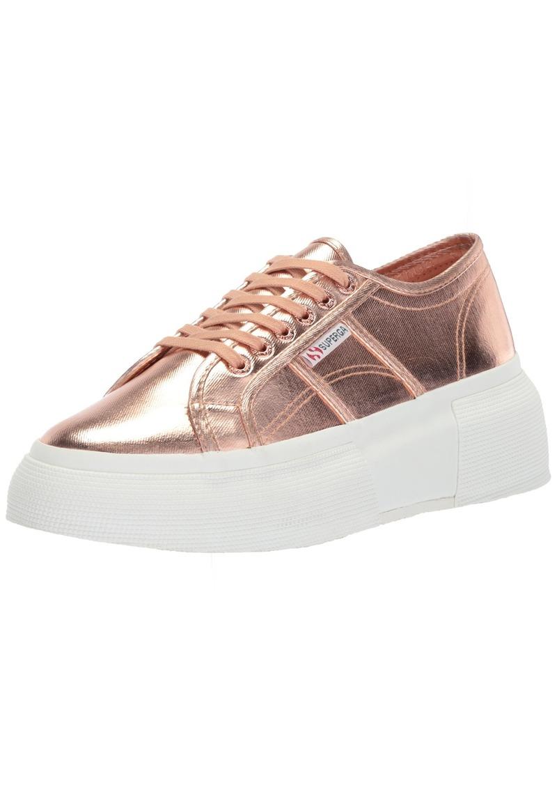 Superga Women's 2287 COTMETW Sneaker  40 Medium EU ( US)