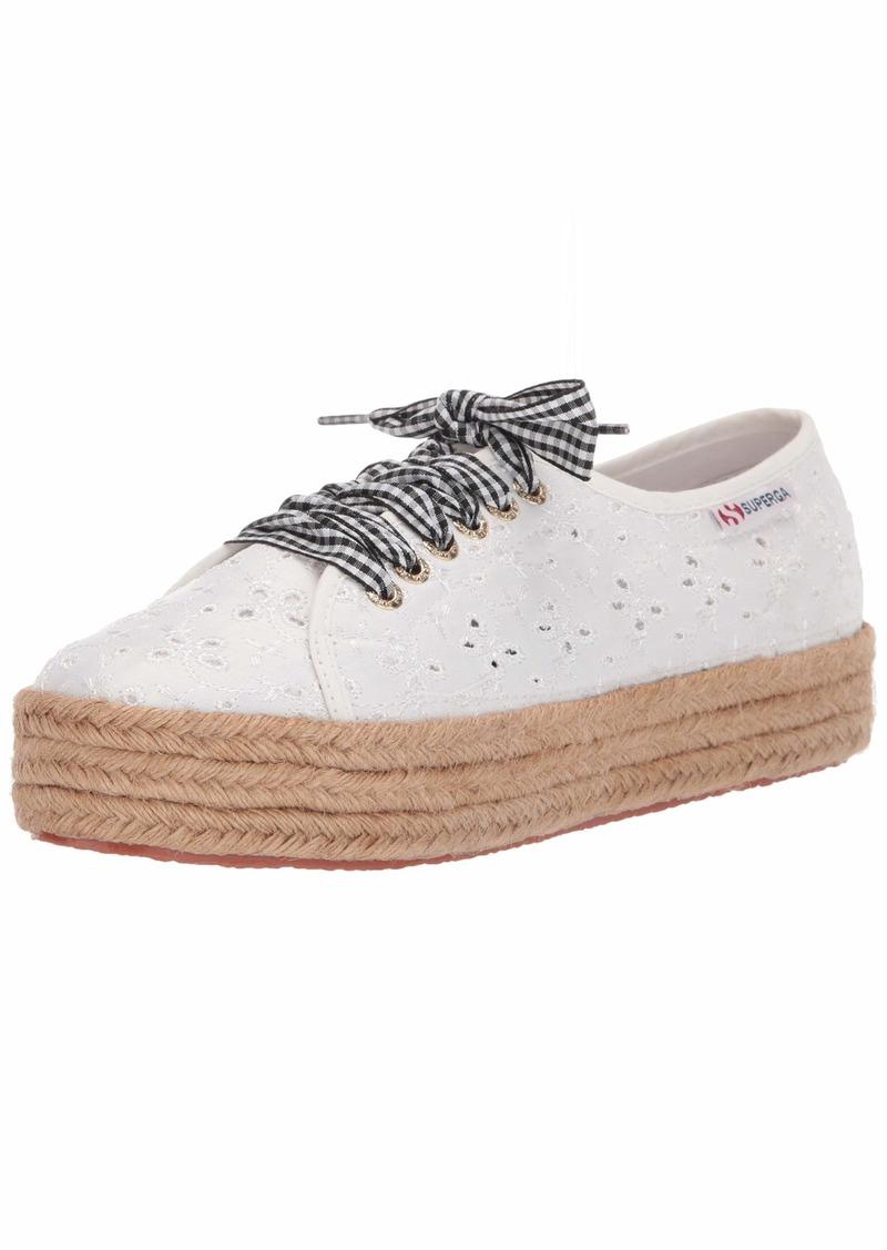 Superga Women's 2730 SANGALLOSATINROPELACESW Sneaker  41 M EU ( US)