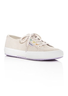 Superga Women's Cotu Classic Suede Lace Up Sneakers