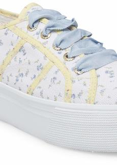 Superga Women's Sneaker blue bonnet  US medium