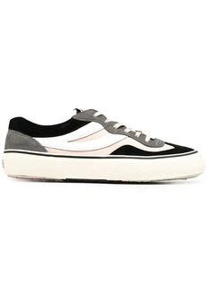 Superga x Soft panelled canvas trainers