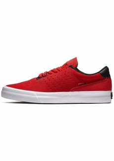 Supra Unisex Adults' Skateboarding Shoes Red (Risk RED-White-M 622) 6.5 UK