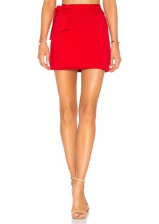 "16"" Tie Mini Skirt"