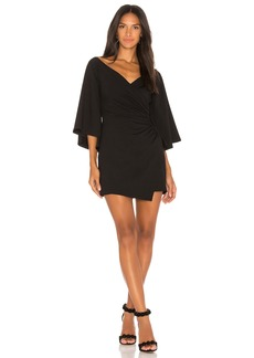 Susana Monaco Bell Sleeve Wrap Dress