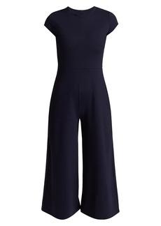 Susana Monaco Crew Neck Short Sleeve Jumpsuit