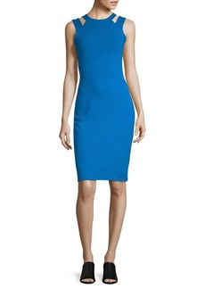 Susana Monaco Cut-Out Sleeveless Dress