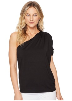 Susana Monaco Darcy Gathered Shoulder Top