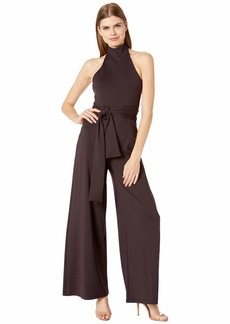 Susana Monaco High Neck Halter Jumpsuit