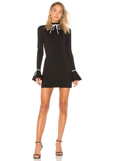 Susana Monaco Ruffle Sleeve Mini Dress