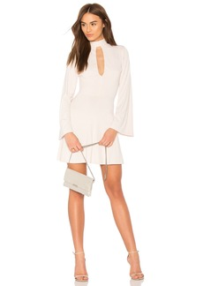Susana Monaco Bell Sleeve Flare Dress